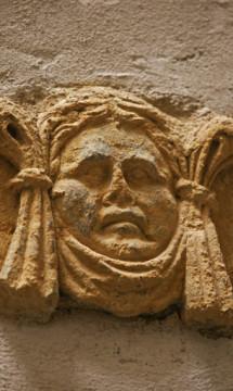 Immeuble inscrit 4 rue St Jean Lyon 5 – Visage sculpté