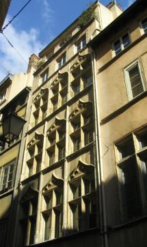 Immeuble inscrit 7 rue Saint-Jean Lyon 5 – Façade