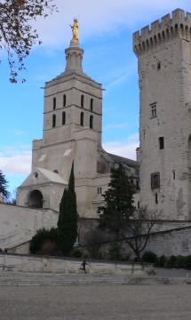Avignon – Métropole ND des Doms – Porche et façade ouest – En partenariat avec Didier Repellin, ACMH