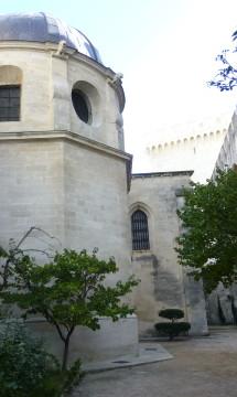 Avignon – Métropole Notre Dame des Doms – Chapelle de la Résurrection – Extérieur – En partenariat avec Didier Repellin, ACMH