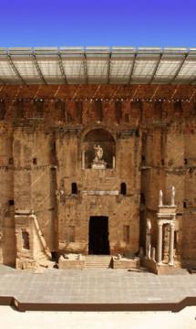 Théâtre antique d'Orange – Toiture de scène – En partenariat avec Didier Repellin, ACMH