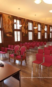 Salle des mariages de la mairie de Lyon 3 – Vue 2