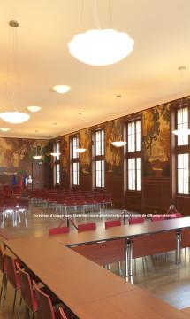 Salle des mariages de la mairie de Lyon 3 – Vue 3